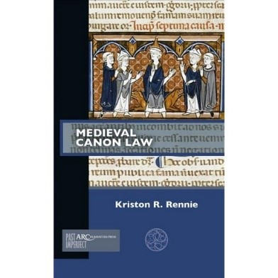 Medieval Canon Law book cover