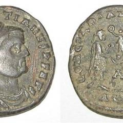 ancient Roman coins, Image by Ingsoc (Own work), CC BY 3.0, via Wikimedia Commons