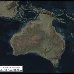 Coastlines of the Ice Age