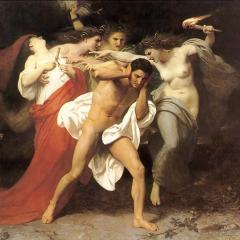 Orestes Pursued by the Furies; Image by William-Adolphe Bouguereau [Public domain], via Wikimedia Commons
