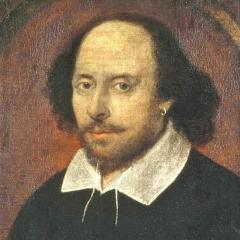 William Shakespeare portrait; Image via Pixabay, CC0 Public Domain