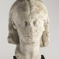 ancient sculpture head