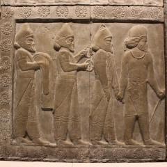 ancient carving, Babylonian; Image via Pixabay, CC0 Public Domain