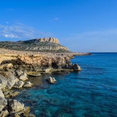 rocky coastline, Mediterranean; Image via Pixabay, CC0 Public Domain