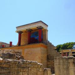 Palace of Knossos; Image via Pixabay, CC0 Public Domain