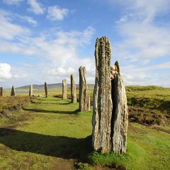 Orkney island megaliths; Image via Pixabay, CC0 Public Domain
