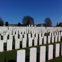tombstones, Flanders; Image via Pixabay, CC0 Public Domain