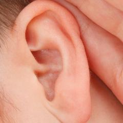 hand to ear, listening; Image via Pixabay, CC0 Public Domain