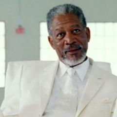 Actor Morgan Freeman portraying God (2003)